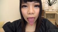 久我かのんちゃんの舌・口内自撮り(通常版+3D)