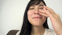 フェチ:素人娘みさきちゃんの鼻観察・くしゃみ鼻水(通常版+3D)