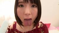 ベロ観察・ベロ唾液フェチズム 篠崎みお(通常版+3D)