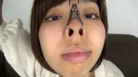 フェチ:素人娘ゆうこちゃんの鼻観察・くしゃみ鼻水(通常版+3D)