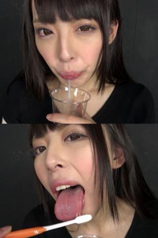 ベロ観察・ベロ唾液フェチズム 黒木いくみ(通常版+3D)