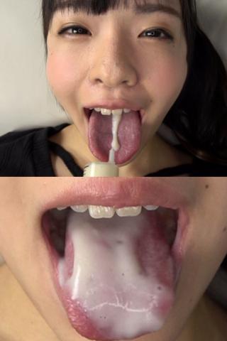 ベロ観察・ベロ唾液フェチズム 宮沢ゆかり(通常版+3D)