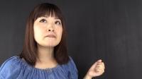 くしゃみ 鼻水 スロー映像 三井彩乃