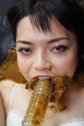 スカトロチューブ連結⑧ 糞食い自己解決まんぐり糞飲み連結地獄編