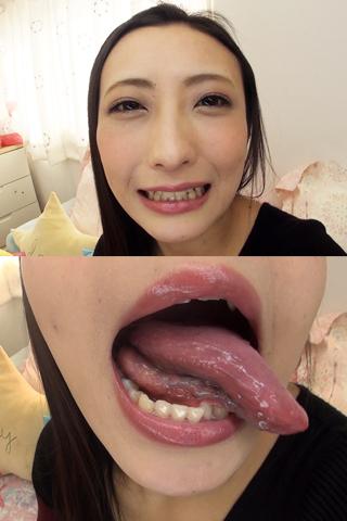 舌・口内自撮り   神納花