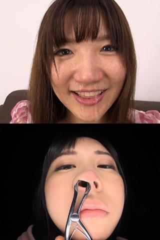 【鼻】鼻観察〜くしゃみ鼻水 2本セット ひなこ&えな
