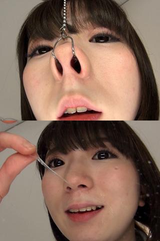 【鼻】鼻観察〜くしゃみ鼻水 2本セット みお&涼