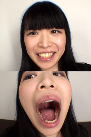 舌・口内自撮り 2本セット にいな&ゆかり