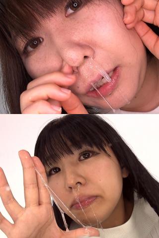 【鼻】鼻観察〜くしゃみ鼻水 2本セット みなみ&美羽