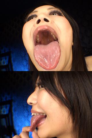 舌・口内自撮り 2本セット 貴和子女王様&あや