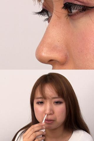 【鼻】鼻観察〜くしゃみ鼻水 寧々
