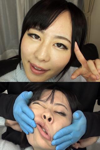 変顔 顔面崩壊  柚希