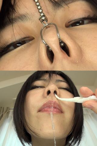 【鼻】鼻観察〜くしゃみ鼻水 柚希