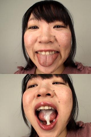 舌・口内自撮り 2本セット ちづる&ちひろ
