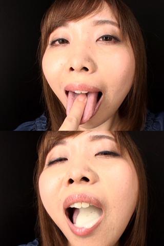 舌・口内自撮り 2本セット 芽愛里&莉子