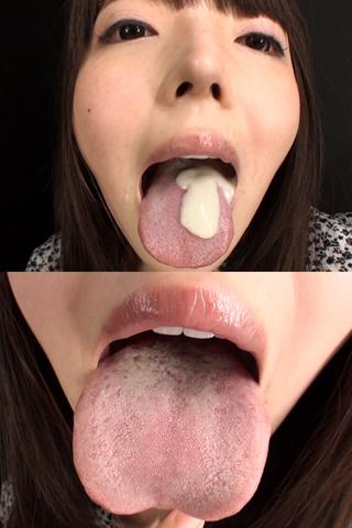 舌・口内自撮り 2本セット 結羽&りあ