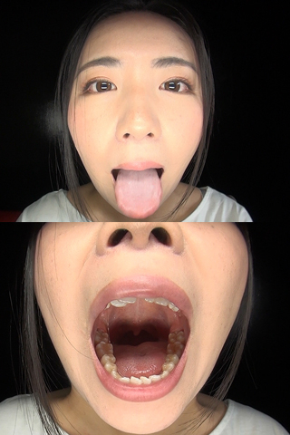 舌・口内自撮り 2本セット わかな&ほのか