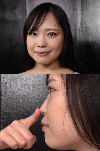 【鼻・鼻水観察】こよりでほじほじ、鼻穴からつーっと垂れるエレガントな鼻水 悠木りほ