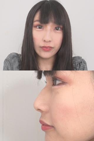 超美鼻かれんの一筋の鼻水!!鼻・鼻水観察 柚希かのん