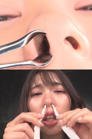 福岡弁で巧みに攻める痴女の鼻水見せつけ