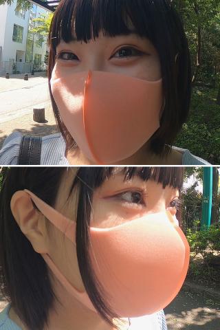 【完売御礼】猫村にこのピンクフィットマスク