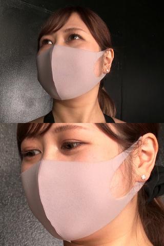 【完売御礼】蜂谷みはとのすみれ色フィットマスク