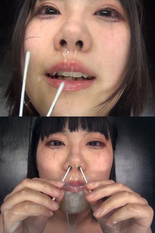 てぃらりー!!part2!!鼻から口から至る所から噴射の一部始終...【粘膜崩壊】止まらないし止めれないクシャミ&鼻水