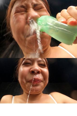 【メンヘラモデル?!】鼻腔綿棒、鼻水出しに心が病んでしまった蜂谷みはとの鼻撮影