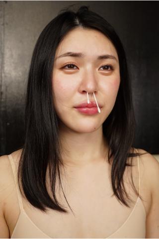 【超絶美人の鼻フルコース】『恥ずかしぃ~』と塩見彩ちゃんが連呼した鼻プレイの一部始終.....
