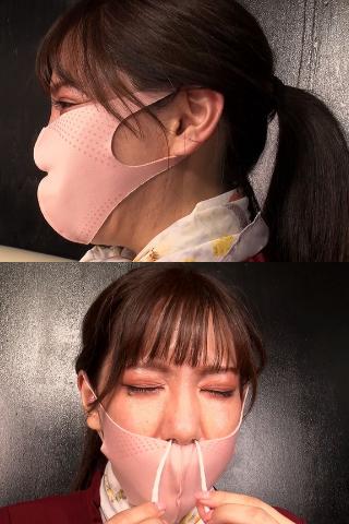 【良い匂い確約】上玉美容部員!!美咲さんの相当飛沫したマスク